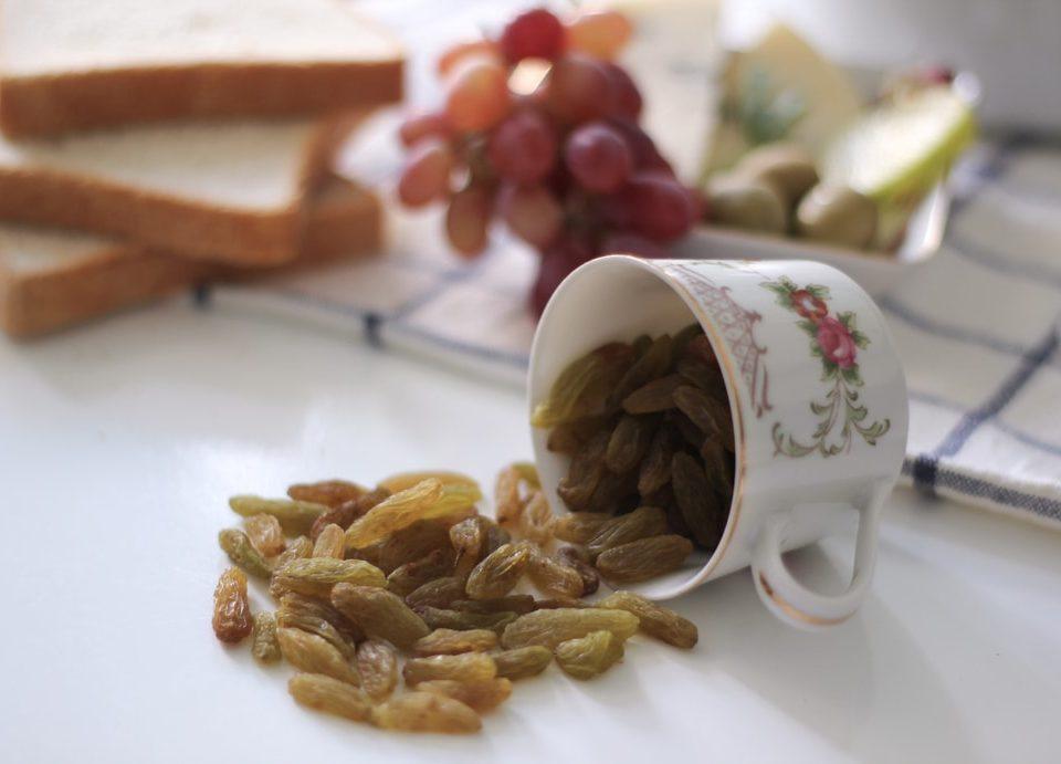 Raisins exports