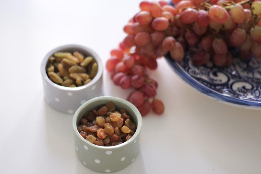 Dried grape fruit